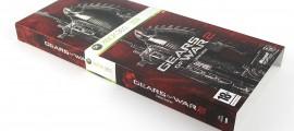 Gears of War 2 Limited Edtion doboz kicsúsztatva, Limitált kiadás, Gyűjtői kiadás