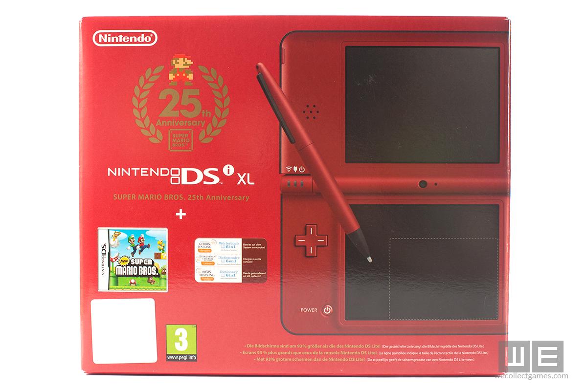 Super-Mario-Bros-25th-Anniversary-Nintendo-DSi-Limitalt-Kiadasu-Piros