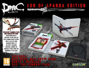 DmC Son of Sparda Edition gyűjtői kiadás - WE collect games